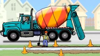 เกมส์ รถปูน รถโม่ปูน ทำภารกิจ -cement-truck วีดีโอสำหรับเด็ก