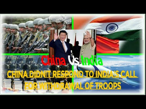 Doklam standoff,China didn't respond to India's call for withdrawal of troops,china warning to india