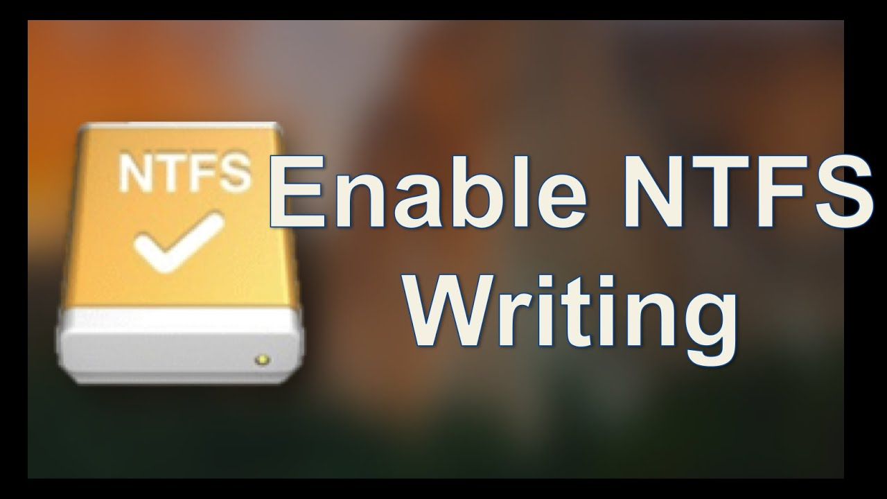 Enable NTFS Write support on Mac OS X Yosemite for FREE