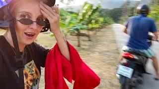 Езда на байке по джунглям в Тайланде Кокос бесплатно Места для фото на Самуи