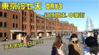港未來線一日遊!!! 紅磚倉庫 元町中華街 [瑋旅行] 東京冷七天 DAY3