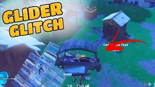 *GLITCH* HOW TO SHOOT WHILE GLIDING! (Fortnite Battle Royale)