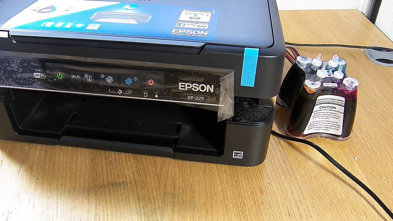 cd installation imprimante epson xp 225