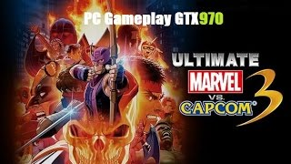 ULTIMATE MARVEL VS. CAPCOM 3 PC Gameplay (Ultra-60fps).