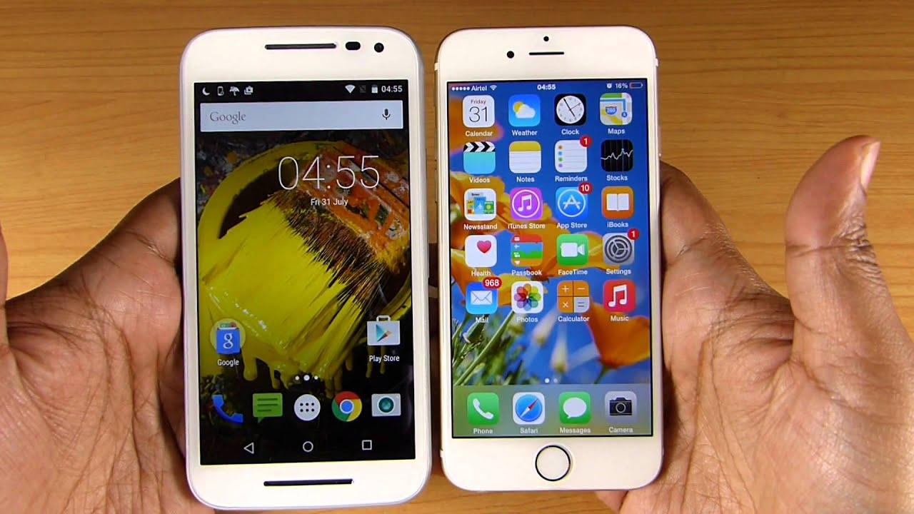 iphone 3rd generation moto g 3rd vs iphone 6 speed test shocking result 10830