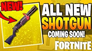 Fortnite - NOUVEAU DOUBLE BARREL SHOTGUN! - Faze Pro Team, Ninja 100k Subs - Plus! (ARME DE FUITE)