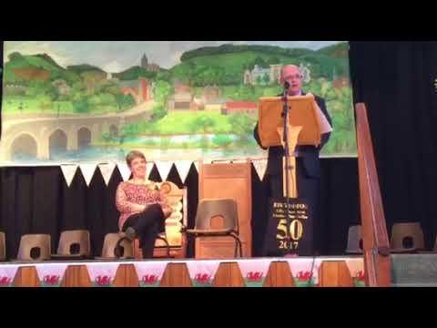 Araith Dorian Morgan, Llywydd y Dydd Eisteddfod Llanbed 2017
