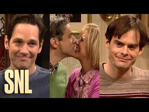 Every Kissing Family Ever (Part 2 of 2) - SNL