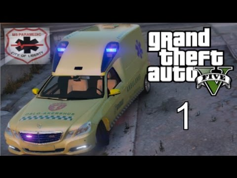 GTA 5 - Rescue Mod - Episode 1 - Norsk Ambulanse!