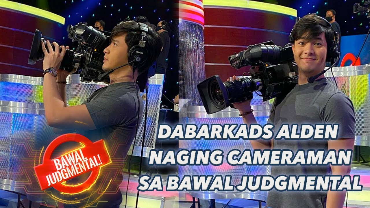 DABARKADS ALDEN NAGING CAMERAMAN | Bawal Judgmental | July 7, 2020