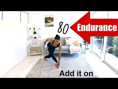 INTERVAL WORKOUT Body weight WORKOUT - Barlates Body Blitz Endurance 80 Add it on