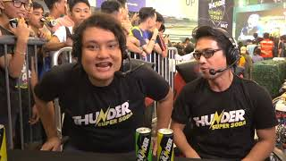 Day 1 Team Dogie VS Team Chix |Game 1 Best of 3  | Mobile Legends|Thunder Esports Tour Grand Finals