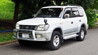 2000 Toyota Land Cruiser Prado Turbo Diesel (Canada Import) Japan Auction Purchase Review