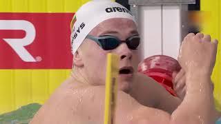 Мужчины - 200 м Вольный стиль Финал Чемпионат Европы по плаванию на короткой воде 2019 Глазго