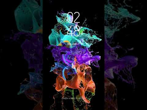 [Samsung Themes-Animated Wallpaper] Liquid Color Explosion - BERGEN Themes