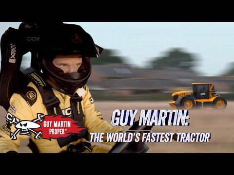 Guy's FINAL WORLD RECORD BREAKING Tractor Run | Guy Martin Proper