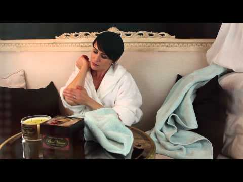 ducing The Collagen Body Candle featuring Rena Sofer