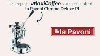 Présentation de la machine à levier La Pavoni Professionnal Lusso PL