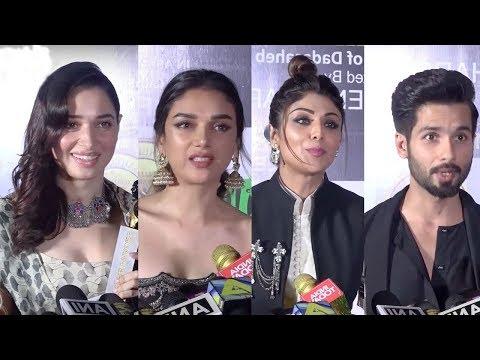 Dadasaheb Phalke Excellence Awards 2018 Red Carpet | Shahid Kapoor, Shilpa Shetty, Tamannaah Bhatia