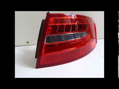 Audi A4 Kombi Lift Led 8k9945096d Prawa Lampa Tył Youtube