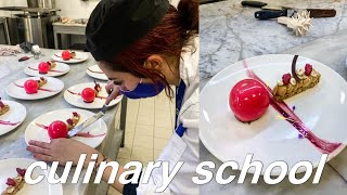 a day in the life of a culinary student | come to school with me | vlog