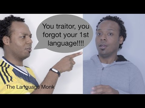 Can you forget your native language?