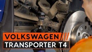 VW TRANSPORTER IV Bus (70XB, 70XC, 7DB, 7DW) Raidetangon Pää asennus : ilmainen video