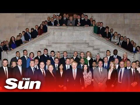 Boris Johnson welcomes