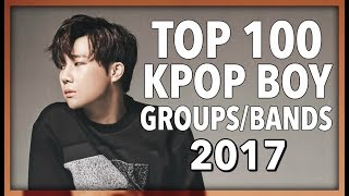 top 100 k pop boy groups boy bands of 2017