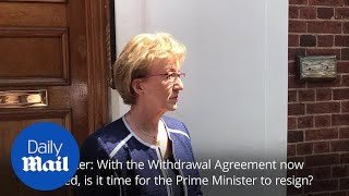 Andrea Leadsom: I have no doubts that I made the right decision
