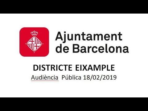 Audiència Pública Dte.Eixample 18-02-2019
