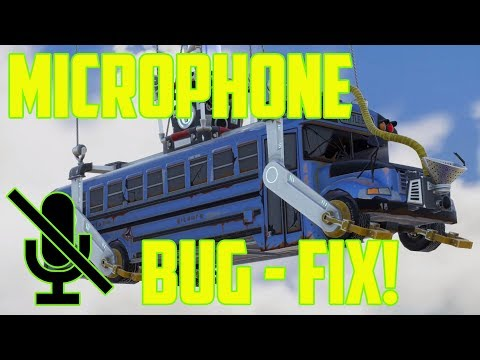 How to fix Fortnite Audio / Microphone Bug ( You can't hear anyone but they hear you )