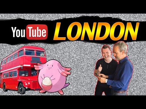 YOUTUBE PARTY! | LONDON VLOG! | POKEMON GO FUN | w/ NOVA!