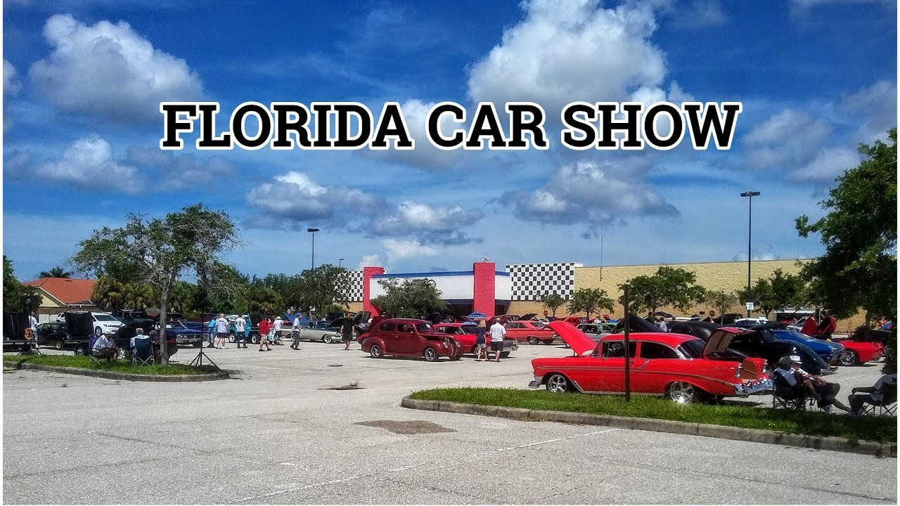 Muscle Car City Car Show Punta Gorda Florida Youtube