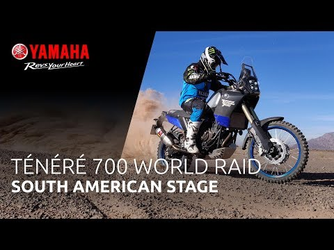 Yamaha Ténéré 700 World Raid | South American Stage