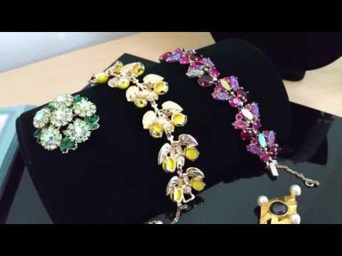 A new survey of  vintage jewelry - Karl Lagerfeld & Schiaparelli