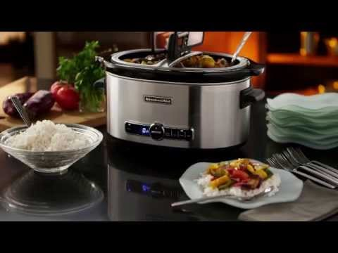 kitchenaid 6qt slow cooker - youtube
