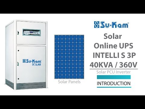 Can 22 X-ray machines run on Solar: Solar Online UPS Intelli S 40 KVA / 360V
