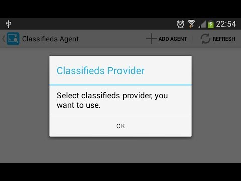 Classifieds Agent 1.4 - How To Set Agent On Gumtree UK