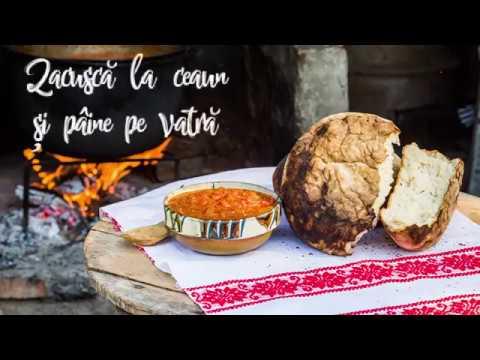Zacuscă la ceaun și pâine pe vatră | rețete tradiționale românești