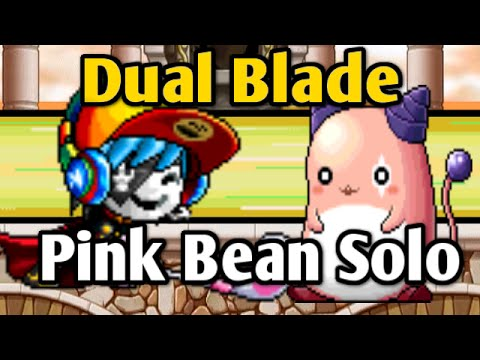 Download Maplestory: ToyDualer vs Pink Bean - 205 Dual Blade Pink Bean Solo