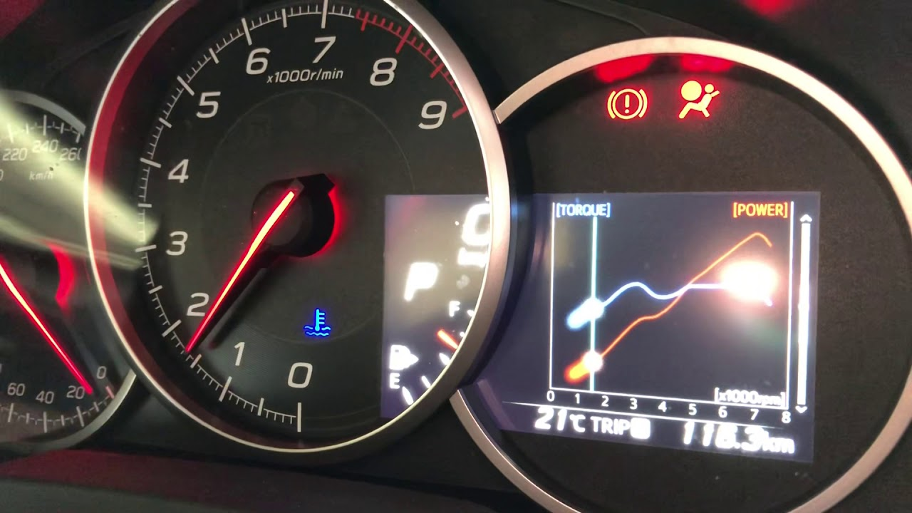 Subaru BRZ Dash and instrument opening ceremony needle sweep quick review