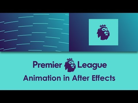 Premier League logo animation in After Effects