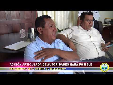 ACCIÓN ARTICULADA DE AUTORIDADES HARÁ POSIBLE CONEXIÓN VIAL EN DISTRITO DE BALSAPUERTO