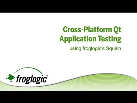 Automated GUI Regression Testing with Squish for Qt