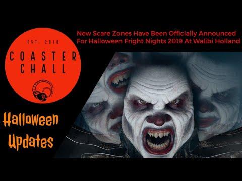 Halloween Fright Nights 2019 Walibi.New Scare Zones Have Been Announced For Halloween Fright Nights 2019 At Walibi Holland