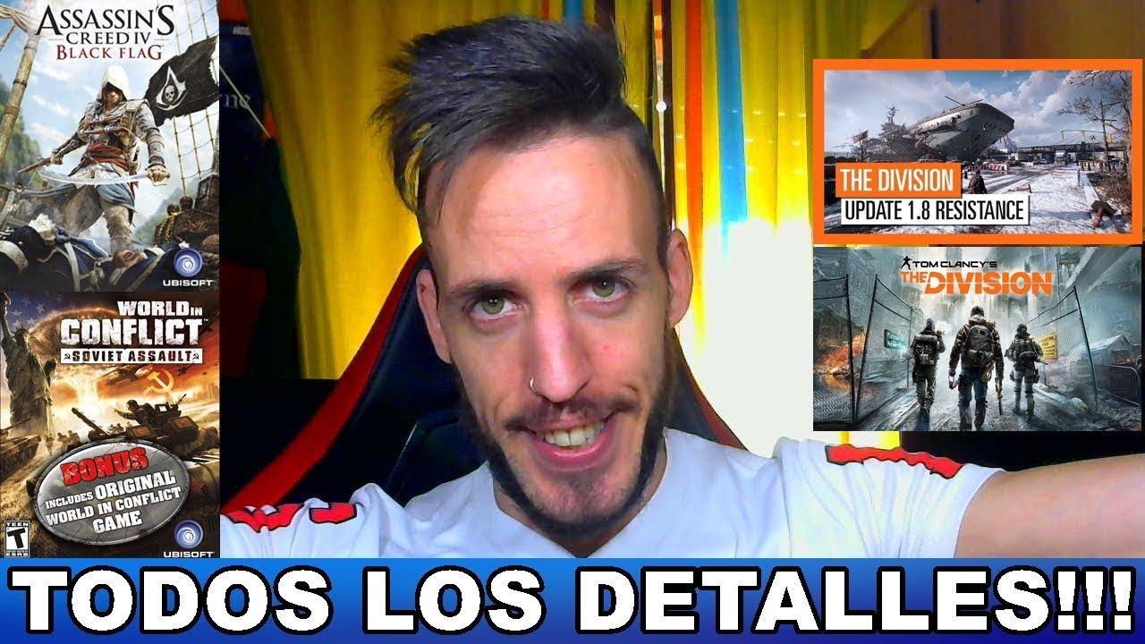 Juegos Gratis Ubisoft Hardmurdog Noticias Pc Ps4 Xbox One