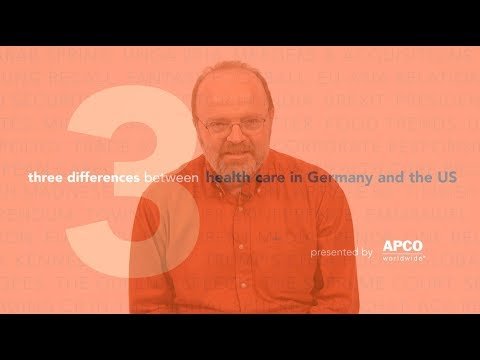 Three Differences Between Health Care in Germany and the United States