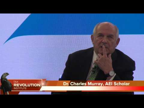 AEI Panel: Charles Murray Makes Case for Universal Basic Income