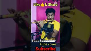 Saat Samundar Paar Flute Cover   #Shorts   By Harish Mahapatra